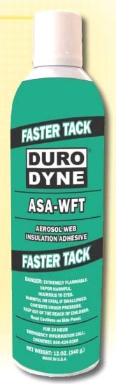 2511200 ASA-WFT 12 OZ SPRAY ADHESIVE 5015