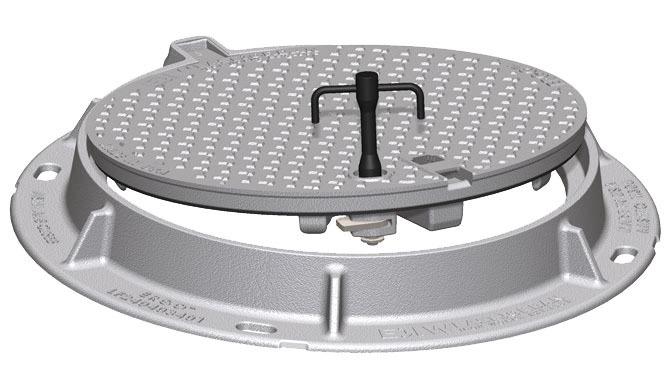Round Cam Lock Key, Ductile Iron