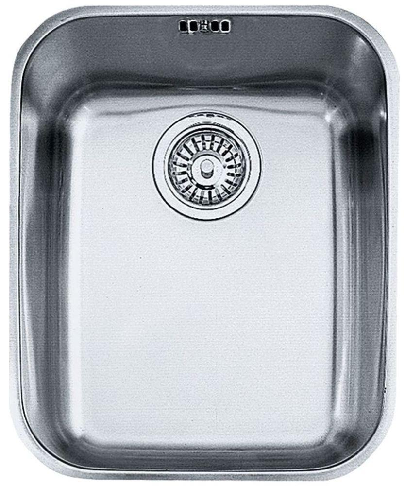 "14-9/16"" x 17-15/8"" Undermount Single Bowl Kitchen Sink - Artisan, Stainless Steel"