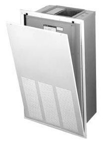 "23-1/2"" x 42-1/2"" Louvered Air Handler Wall Panel with Captive Screw - Wall Mount"