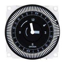 SPDT 24 Hour Electromechanical Timer Module - FM1 Series, 7 Day Carryover