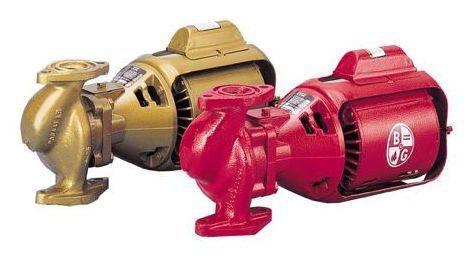 "1/12 HP Circulator Pump - Bronze, 115 V, 3/4"" or 1"" or 1-1/4"" or 1-1/2"" Flange, 3-Piece"