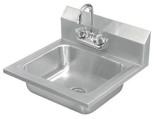 Wall Mount Handwash Sink, 304 Stainless Steel