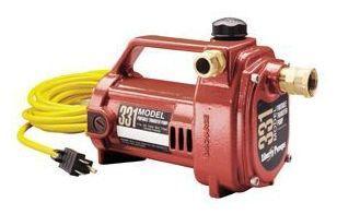 1-Piece Portable Utility Pump, Cast Aluminum