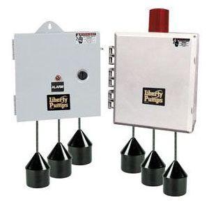 "10"" x 10"" x 6"" NEMA 4X Duplex Pump Control Panel - 3-Float"