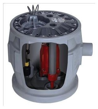 Grinder Pump Package, Cast Iron