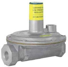 """3/4"""" Aluminum Line Pressure Regulator - FPT, 2 psi, 8"""" WC"""