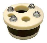 "6 X 1-1/4"" Single Drop Pipe Split Top Plate Pump Well Seal, Plastic"