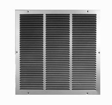 "10 X 20"" Return Air Grille, Steel"