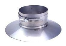 Round Storm Single Wall Duct Collar
