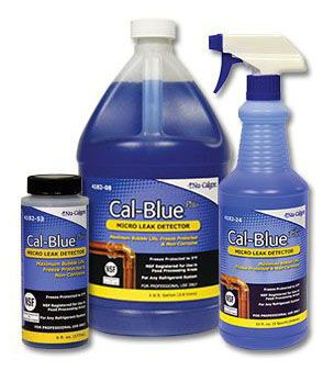 Gas Leak Detector - Cal-Blue Plus, 1 Quart Spray Bottle