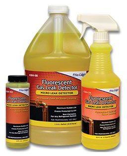 Fluorescent Gas Leak Detector - 1 Quart Spray Bottle