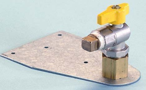 """3/4"""" Yellow Brass 90D Termination Fitting"""