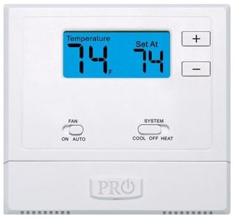 """WIFI Enabled Thermostat - 2"""" SQ Display, 18 to 30 VAC, 1.5 A"""