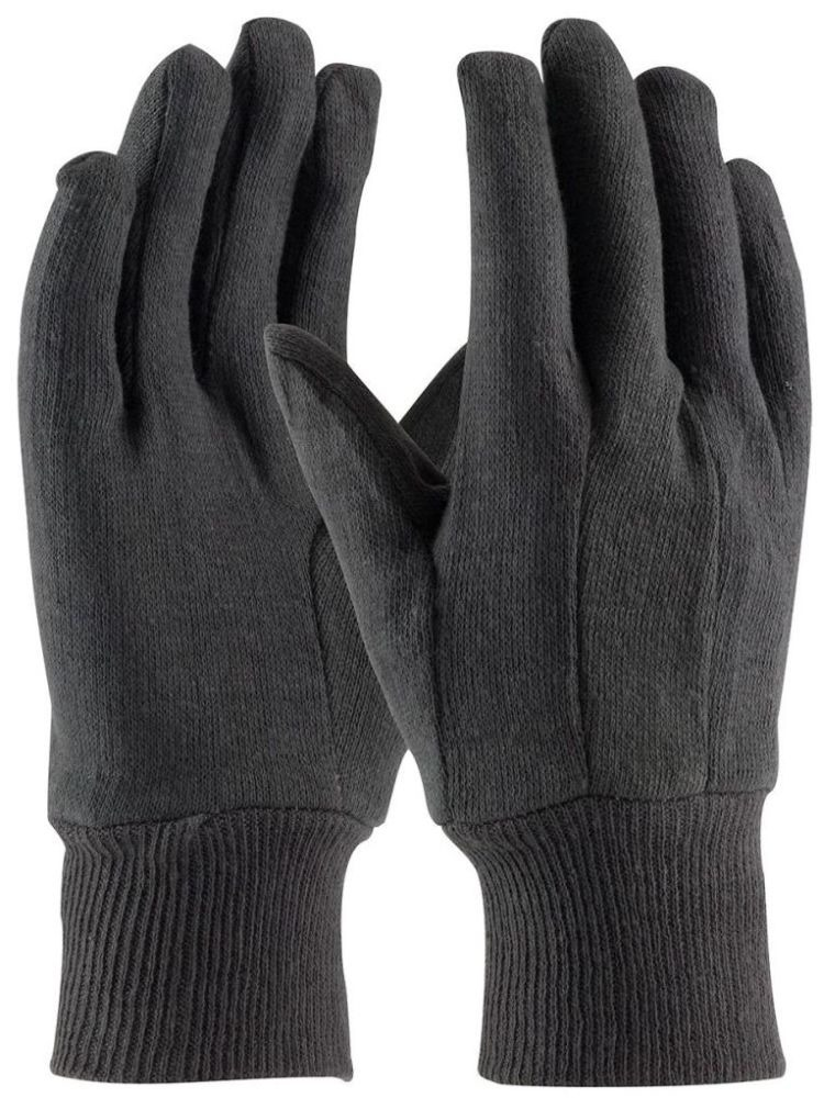 Brown Gloves - Cotton