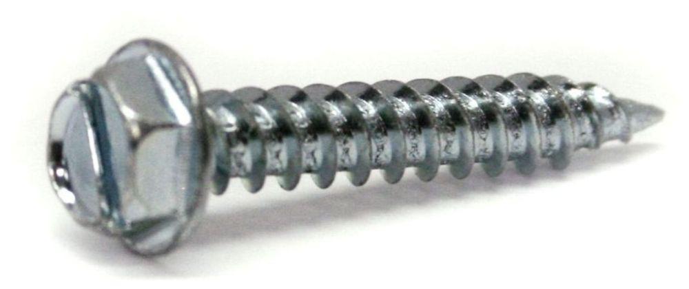 """#8 x 1"""" Hex Head Speed Point Screw - ProScrew"""