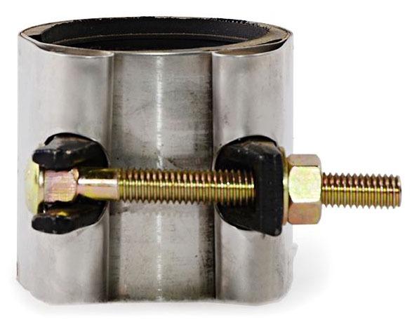 "2-1/2 X 6"" Stainless Steel Collar Leak Pipe Repair Clamp"