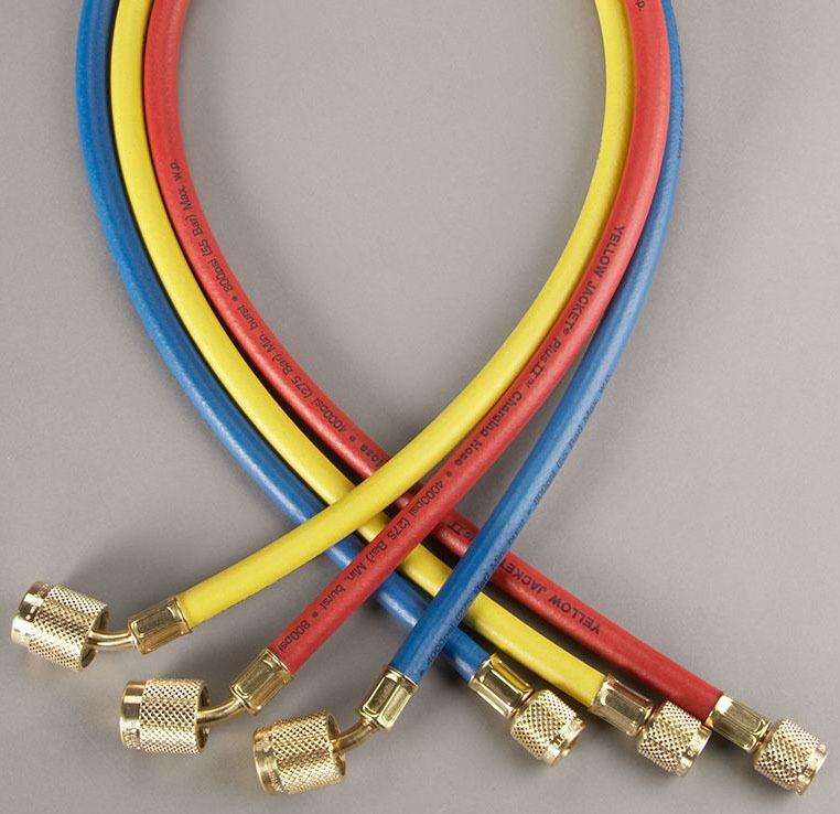 """1/4"""" Yellow Charging Hose - PLUS II"""