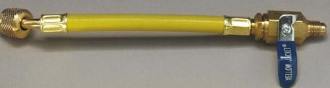 "1/4"" Yellow / Blue / Red Adapter Hose - FlexFlow"