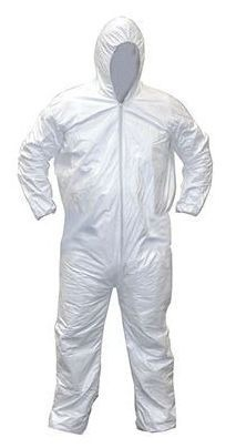 X-Large Protective Coverall - Gen-Nex, Elastic Wrist and Ankle, Full Zipper Front, Cloth-Like Fiber
