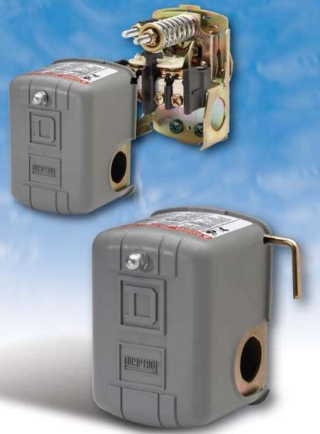 Power Pressure Switch - Pumptrol, 60 psi Open, 40 psi Close