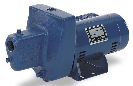 3/4 HP Self-Priming Shallow Well Jet Pump, Cast Iron