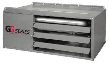 120000/98400 BTU (Input / Output) Natural / Liquid Propane Gas Unit Heater - Nexus, Garage, Aluminum Heat Exchanger