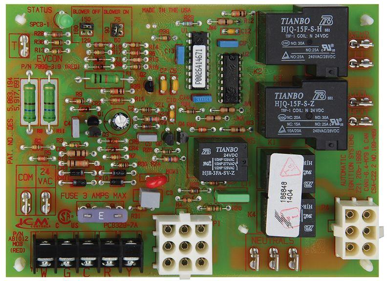 HVAC Integrated Control Board