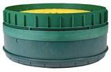 Septic Riser Adapter, Green Copolymer Polypropylene