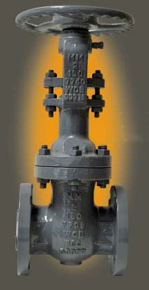 "8"" Raised Face Flanged Gate Valve, Carbon Steel"