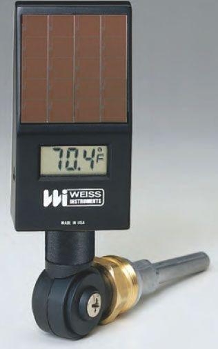 -50 to 300 Deg F Digital Thermometer - Vari-angle, 1 Percent
