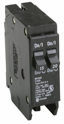 C-H BR1520 2P 15/20A CB
