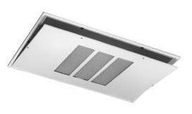 """Louvered Fan Coil Ceiling Access Panel - 43"""" x 27-1/2"""", Surface Mount"""