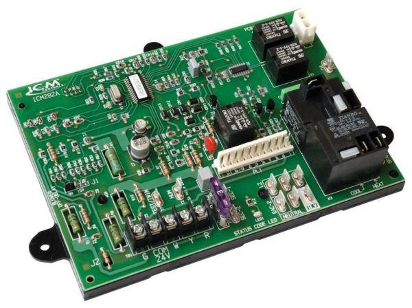 98 to 132 VAC Furnace Control Board - 5 A at 120 VAC Igniter, 4 A FLA / 8 LRA at 120 VAC Inducer Motor, 1.5 A at 30 VAC Gas Valve, 30 A 2 HP 240 VAC Cool Blower