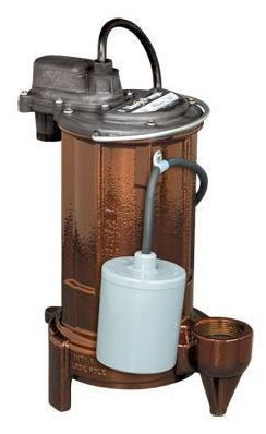3/4 HP Submersible Effluent Pump - Cast Iron, 78 GPM, 115 V
