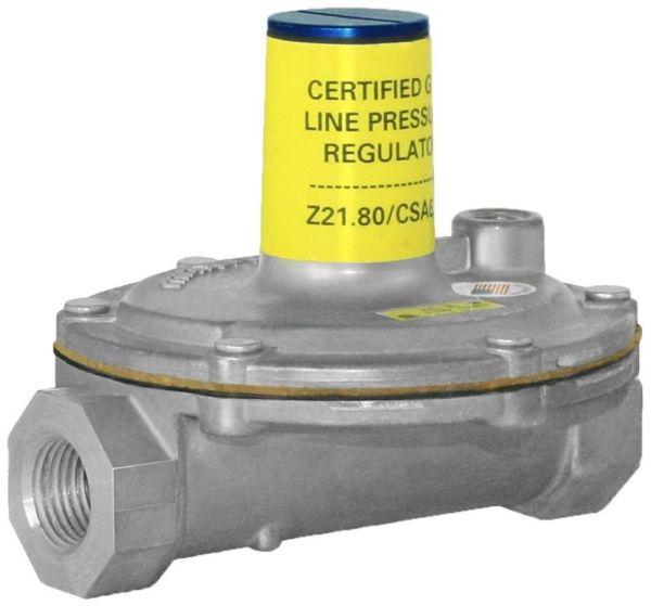 """1/2"""" Aluminum Line Pressure Regulator - FPT, 2 psi, 11"""" WC"""