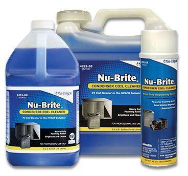 Coil Cleaner - Nu-Brite, 1 Gallon Bottle