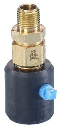 "3/4"" Brass Male Straight Adapter - TracPipe PS-II, MPT"