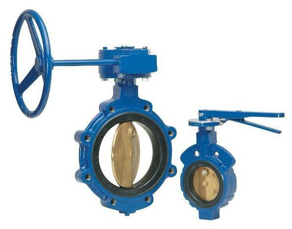 """2"""" Flanged Lug Butterfly Valve, Cast Iron"""