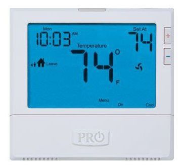 """7-Day 5/1/1 WIFI Enabled Programmable Thermostat - 8"""" SQ Display, 18 to 30 VAC, 1.5 A"""