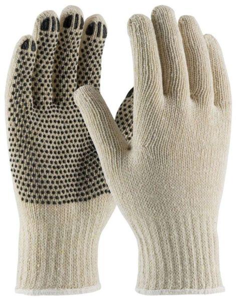 Large Natural Gloves - Fingernails, Cotton / Polyester