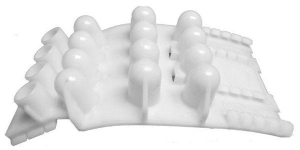 Medium G Pipe Casing Spacer, Injection Molded Polyethylene