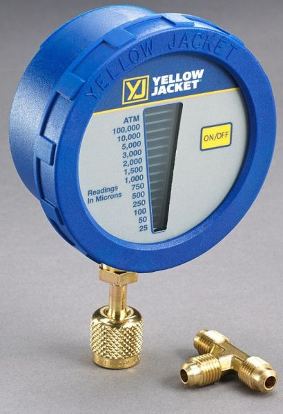 LCD Display Vacuum Gauge