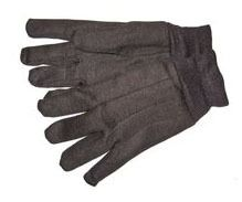 Straight Gloves, Cotton/Polyester