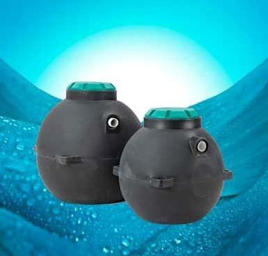 Sphere Pumped Septic System Tank