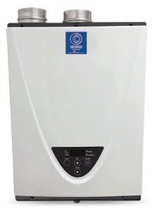 GTS-340-NIH STATE ON DEMAND NAT GAS 180,000 BTU INDOOR CONDENSING HIGH EFF TANKLESS WTR HTR