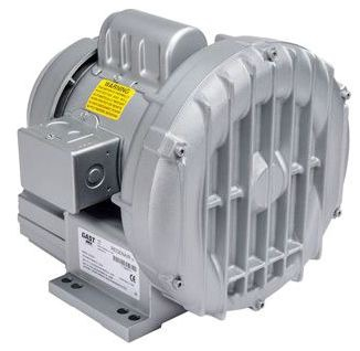 "R3105-12 GAST 1/2HP 55"" H2O MAX PRES 53 CFM OPEN FLOW REGENAIR BLOWER"