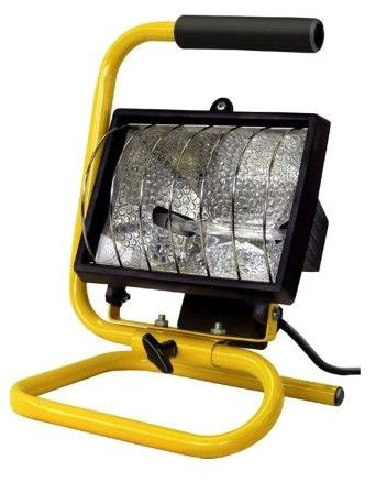 E25250 JS PORTABLE HALOGEN WORK LIGHT