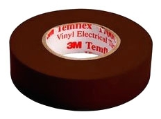 Shurtape EV057C Brown 3/4x66 Color Codeing Tape (fka 1700C-Brn)