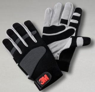 3M WGL-1 LRG GRIPPING WORK GLOVES